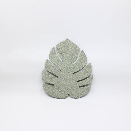 Onderzetter - Leaf - Olive Green