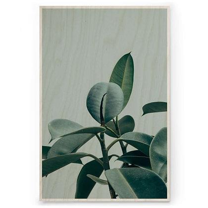 Houten Poster - M - Botanic
