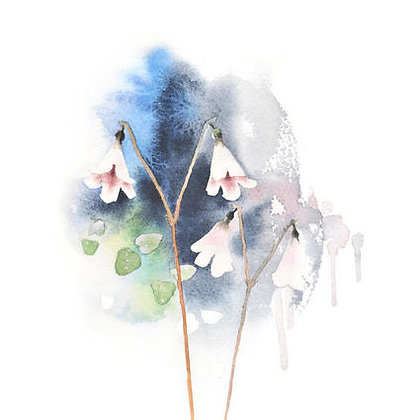 Poster - XS - Twin Flower (13x18 cm)