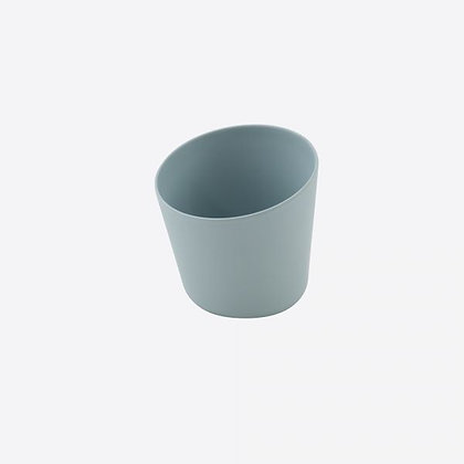 Bloempot Bamboevezel  - Smooth - Mist Blauw