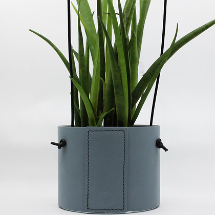 Hangende Bloempot - Block - Light Blue
