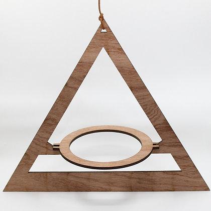 Houten plantenhanger triangle van het merk All Things We Like