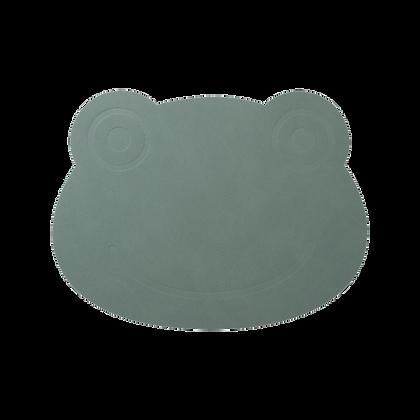 Placemat - Frog - Pastel Green