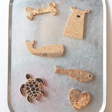 Kurken Magneten - Set van 3 - Zelf samen te stellen