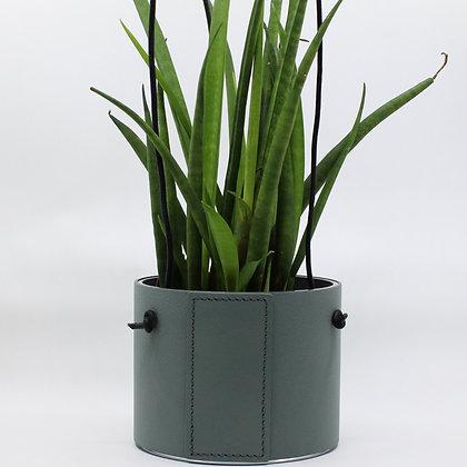 Hangende Bloempot - Block - Pastel Green