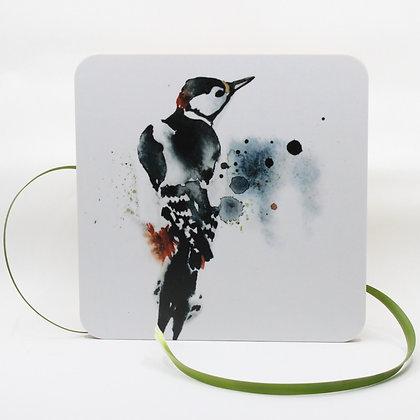 Pannenonderzetter / Serveerplank - Woodpecker