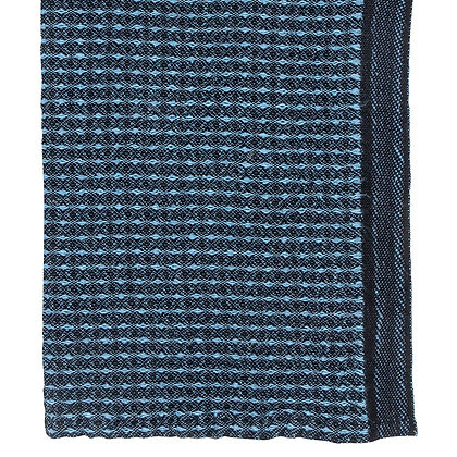 Maija - Vaatdoek - Black/Rainy Blue