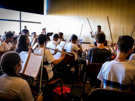 Cidade das Artes recebe concerto de estreia da Orquestra Sinfônica Juvenil Carioca