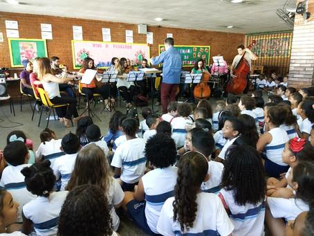 Inscrições prorrogadas para o Programa Orquestra nas Escolas