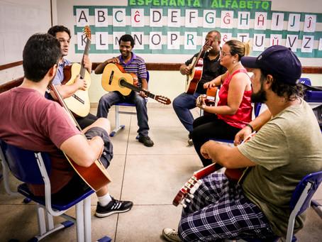 Orquestra nas Escolas recebe especialistas de todo Brasil na Semana de Formação de Professores