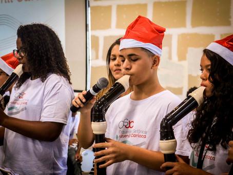 Orquestra Sinfônica Juvenil Carioca apresenta série de Concertos de Natal pela cidade