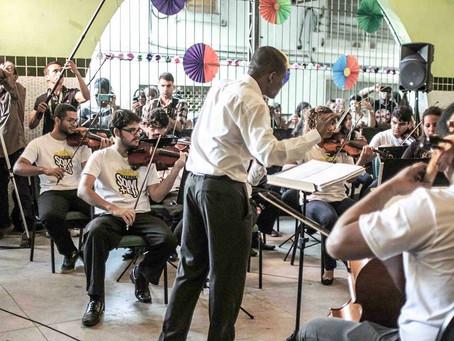 Som + Eu inaugura nova unidade em Santa Cruz com concerto da Orquestra Sinfônica