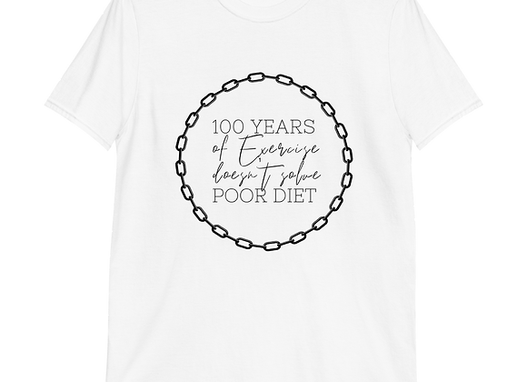 T-Shirt 100 Years of Exercise