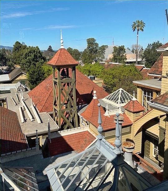 The spirit bell at the Winchester Mystery House, San Jose, California