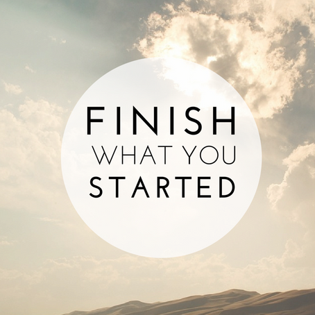 Finish What You Started | Jeyran Main
