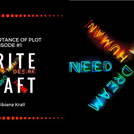 Write Craft - Episode #1-The Importance of Plot