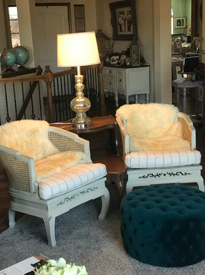 MCM redone chairs