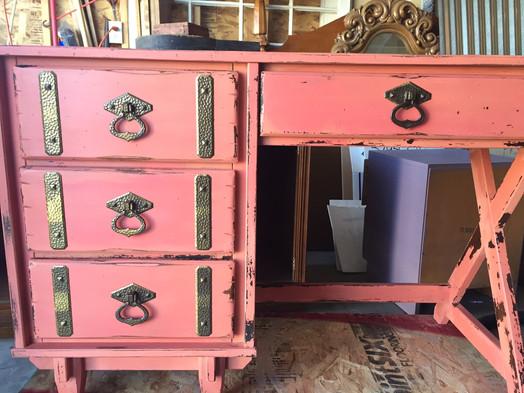 Desk with original harware