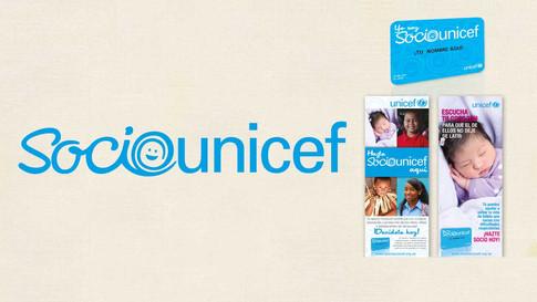 Campaña de Fundraising SocioUnicef