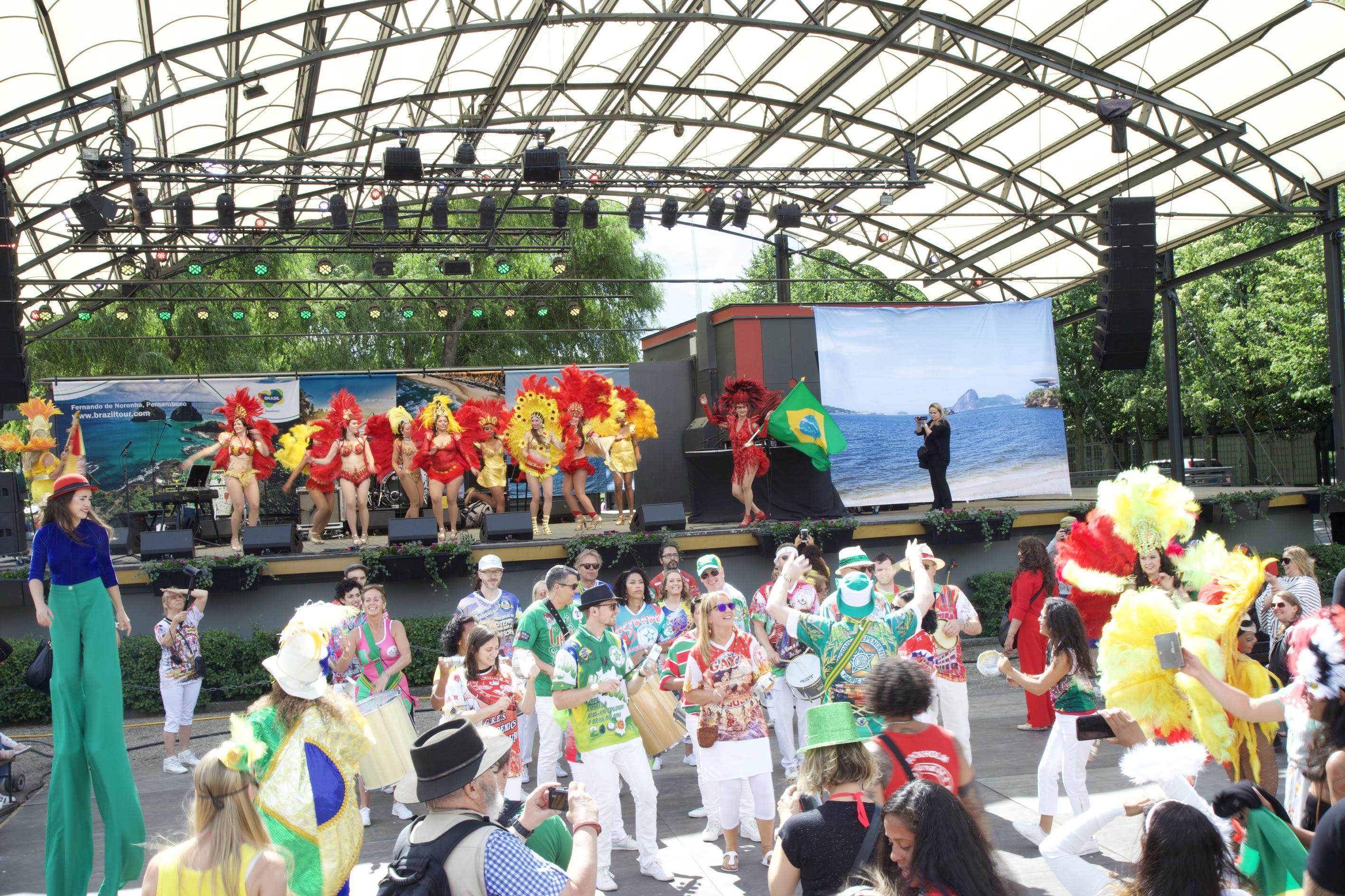 Brazilian Day Kungsträdgården