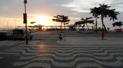 Copacabana trottoar