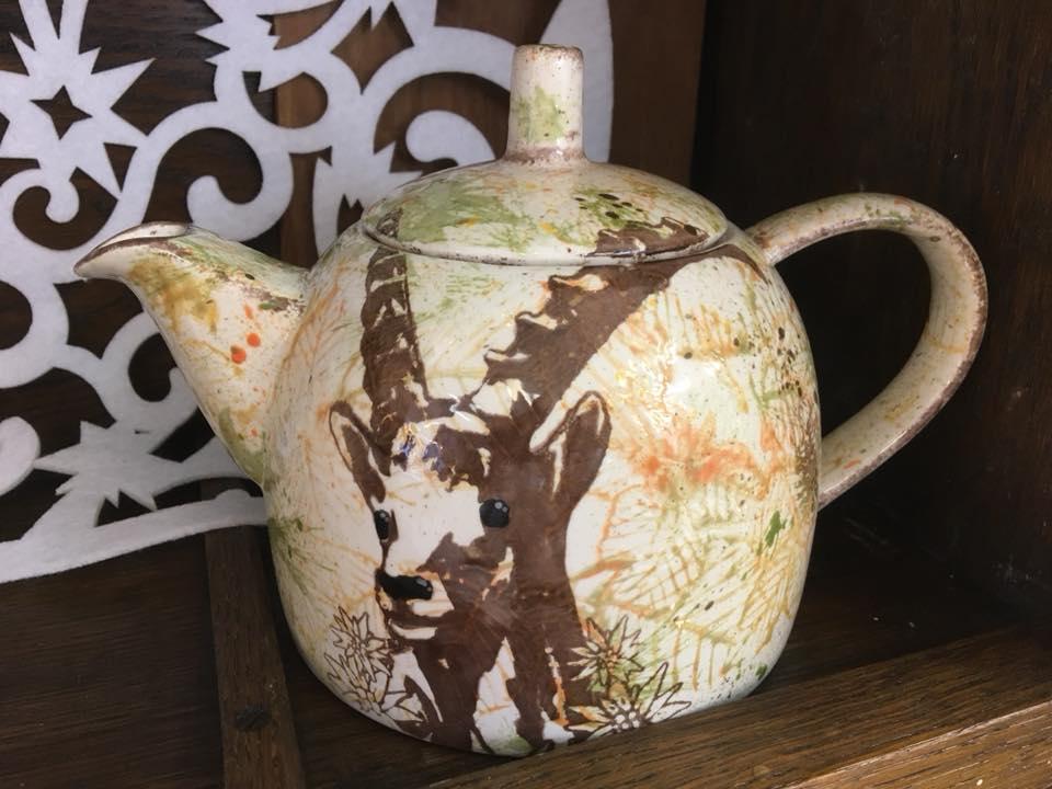 capricorn teapot