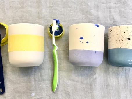 Klebeband und Zahnbürste / Your New Best Friends: Masking Tape and Toothbrushes