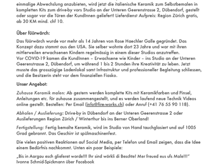 Unsere Pressemitteilung / Our press release
