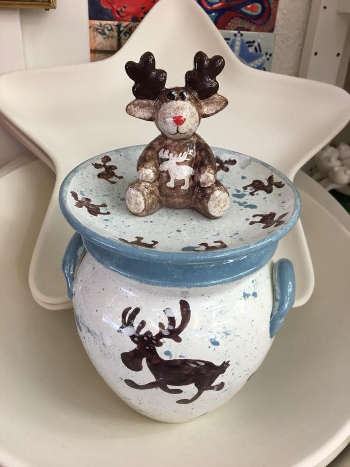holiday cookie jar