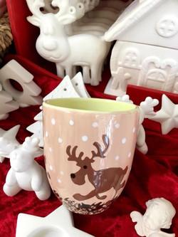 olive mug w elk
