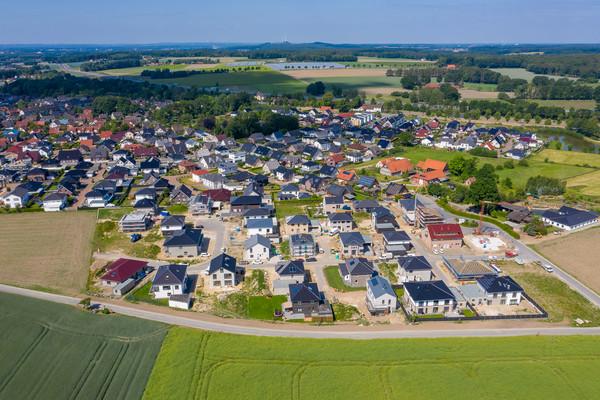 Neubaugebiet in Belm