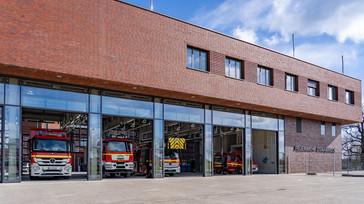 Stadt Osnabrück nimmt Feuerwache 2 in Betrieb
