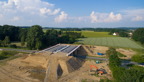 Bau der Ortsumgehung Belm Baubegleitung