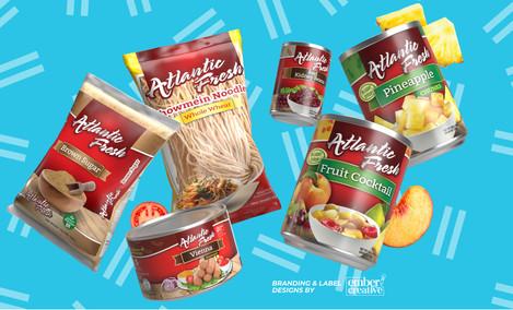 Branding for Atlantic Fresh
