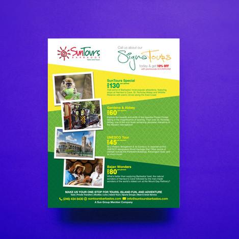 Island Tour Flyer