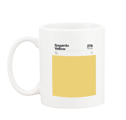 MUG  Sagardo Yellow