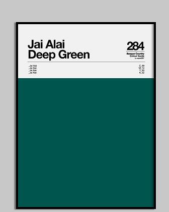 JAI ALAI deep green