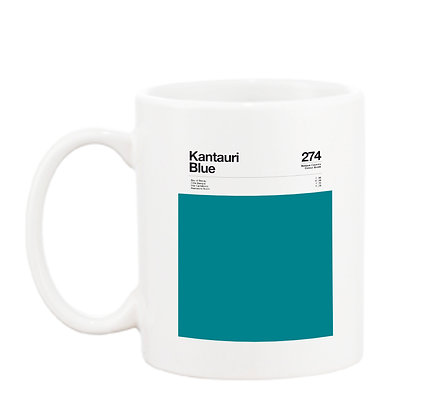 MUG  Kantauri Blue