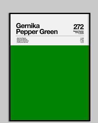 GERNIKA PEPPER GREEN
