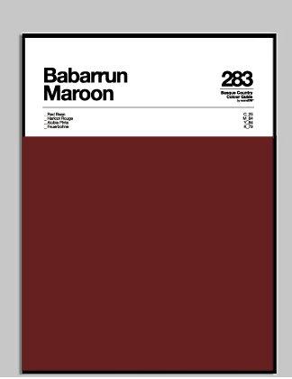 BABARRUN MAROON