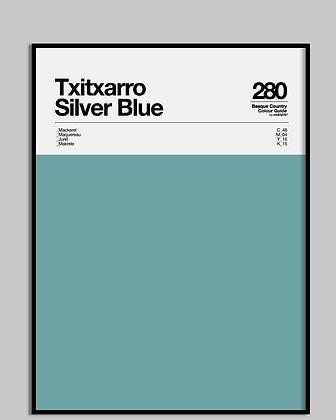 Txitxarro Silver Blue