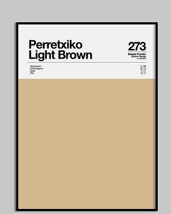 Perretxiko Light Brown