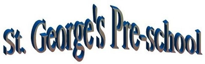 St George's Pre-School logo