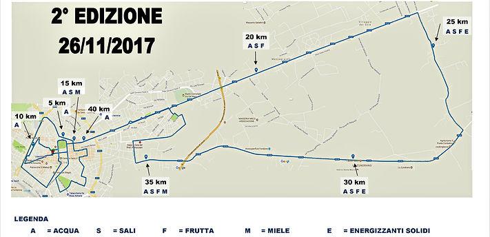 percorso 2° edizione maratona del barocco