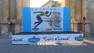 Podio Corri a Lecce
