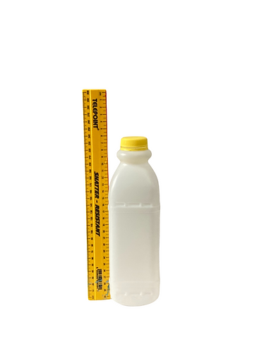 500ml HDPE Square - pack of 150