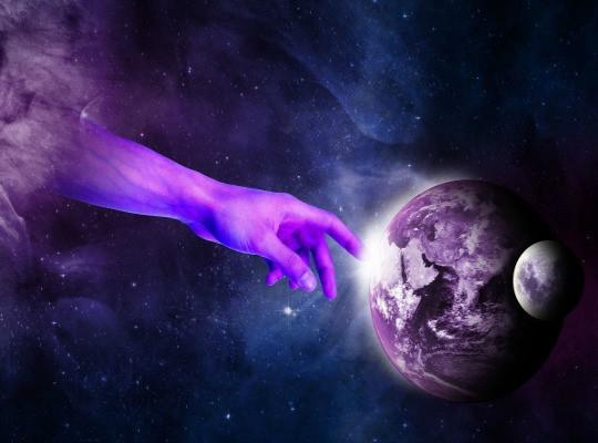 כל אחד צריך מערכת יחסים טובה עם היקום