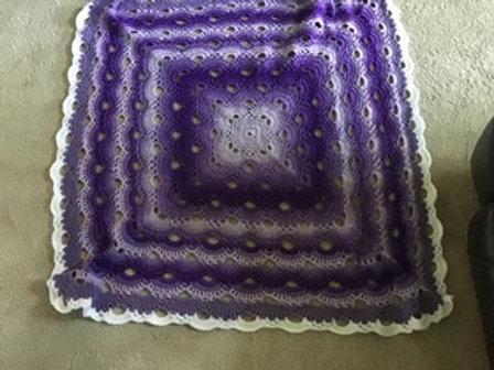 Purple Afghan