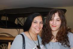 Diane M and Laura