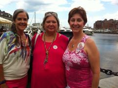 Joanie, Ann and Teri